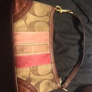 Small limited Authentic coach handbag.